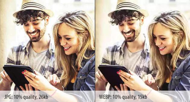 WebP - формат изображений от Google