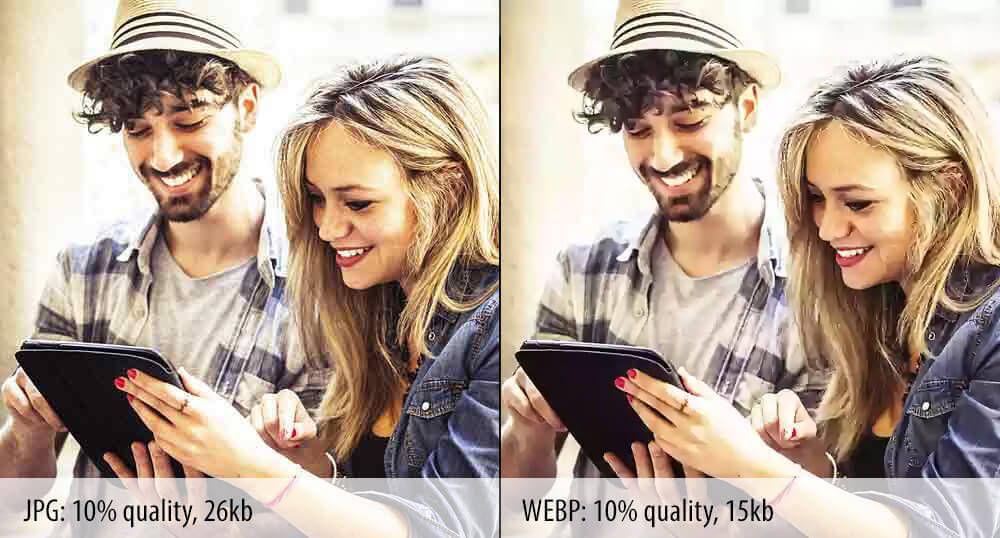 WebP — формат изображений от Google