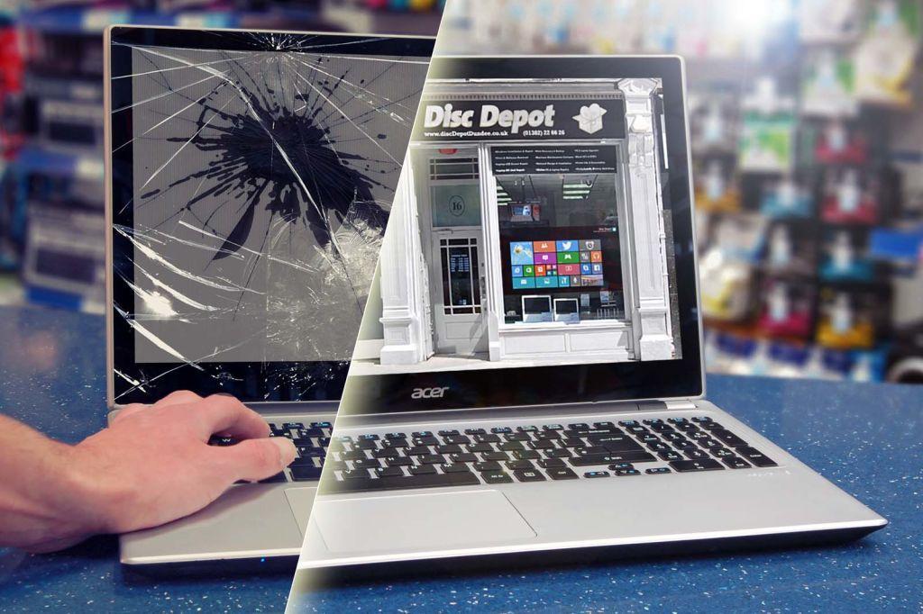 Особенности ремонта ноутбуков