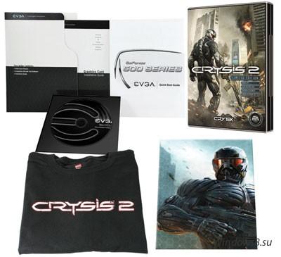 Видеокарта GeForce GTX 560 Ti для фанатов Crysis 2