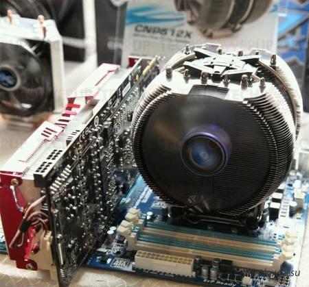 Новый процессорный кулер от компании Zalman