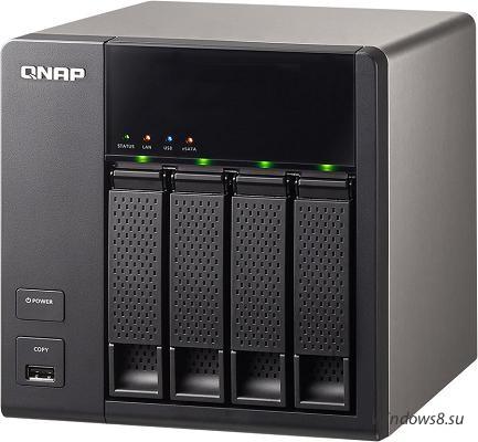 Сетевое хранилище QNAP TS-412