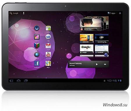 Samsung представила GALAXY Tab 10.1