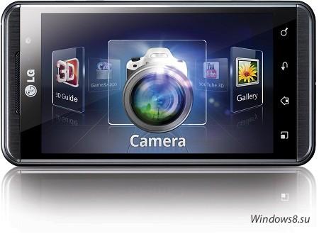 Подробности смартфона Optimus 3D