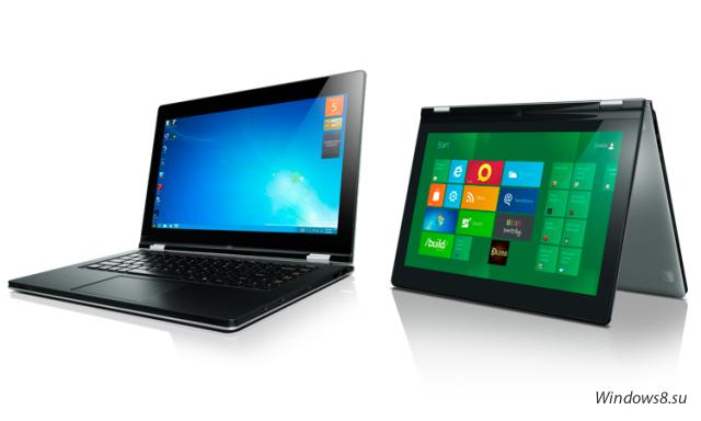 Ультрабуки Intel на Windows 8