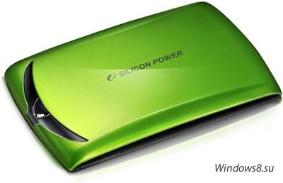 Стильный внешний HDD - Silicon Power Stream 10