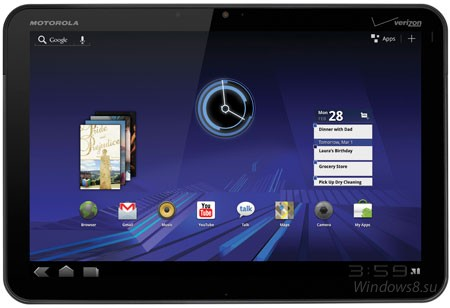 Планшет Xoom от компании Motorola