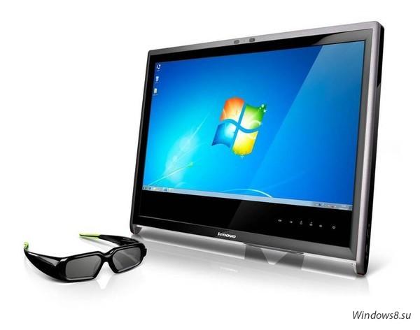 Новый 3D-монитор L2363D от Lenovo