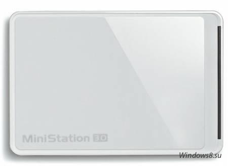 Внешний HDD Buffalo HD-PCTU3 1Tb с USB 3.0