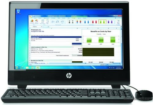Первый моноблок HP на платформе AMD Brazos