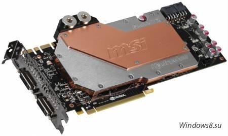MSI GeForce GTX 580 с водяным охлаждением