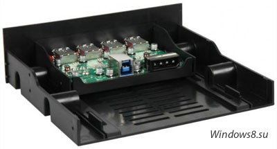 Панель с USB 3.0 от компании Sharkoon