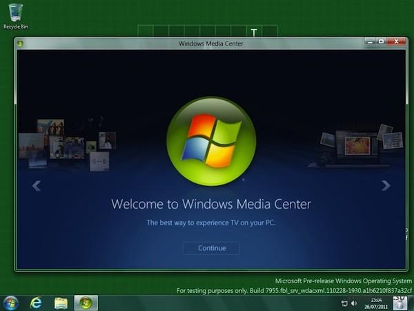 Media Center и Windows 8