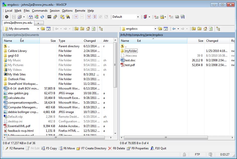 WinSCP: удобный графический клиент SFTP для Windows