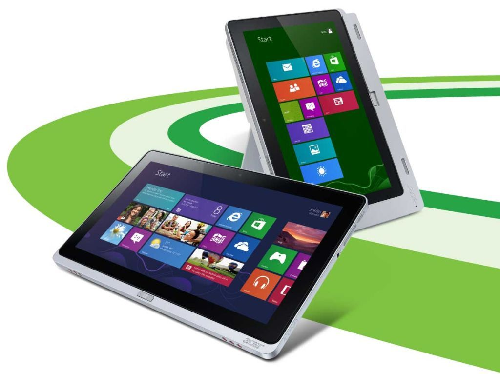 Планшетый компьютер Acer на Windows 8