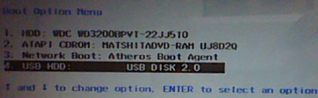 Установка Windows 7 на ноутбук Packard Bell