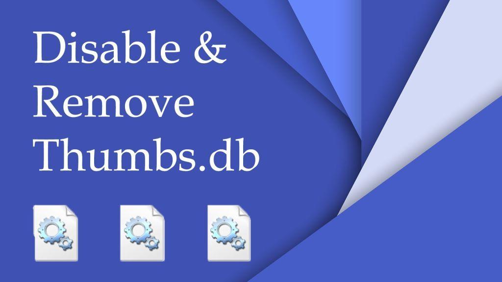 Что за файл 'Thumbs.db' и как от него избавиться