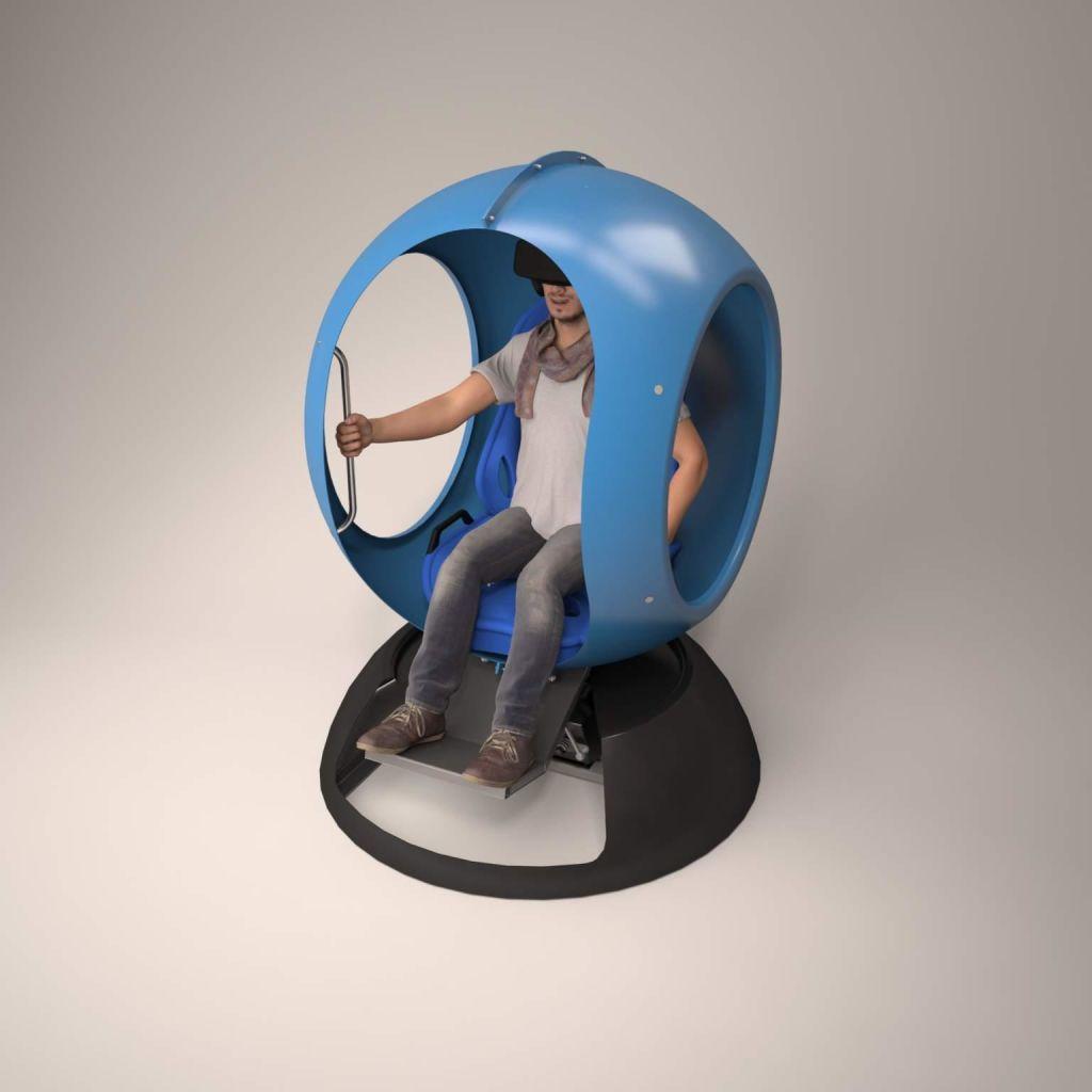 Аттракцион виртуальной реальности Futurift