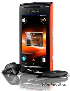 Sony Ericsson анонсирует смартфон W8 Walkman