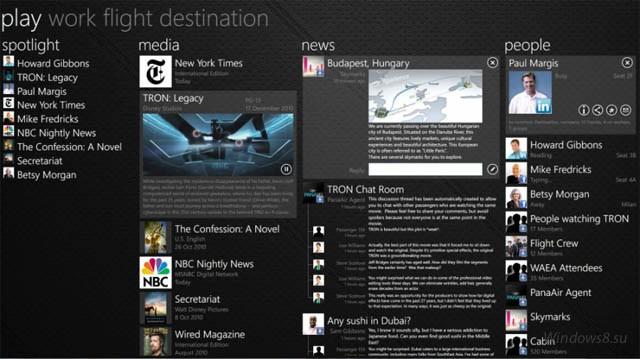 Социальная сеть от Jetstream Software для Windows 8