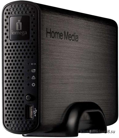 Удобное хранилище Home Media Cloud Edition от Iomega