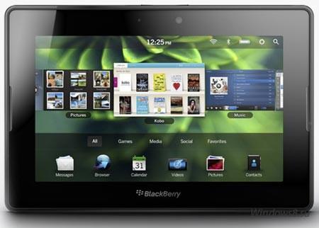 Планшет BlackBerry PlayBook а своей ОС