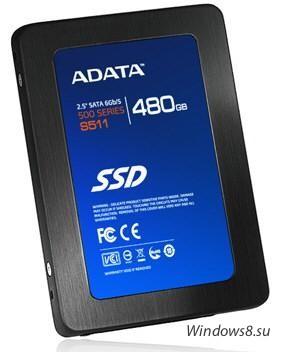 S511: новые SSD диски от ADATA