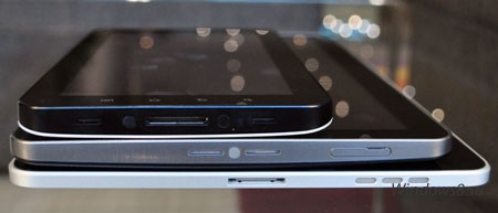 Samsung GALAXY Tab 10.1 сравнение с Apple iPad