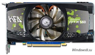 Разогнанная GeForce GTX 560 EX OC от KFA2