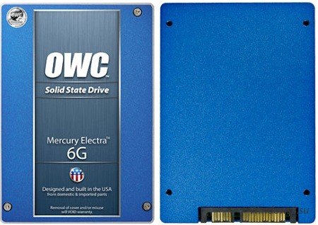 Mercury Electra 6G: резкие SSD диски от OWC