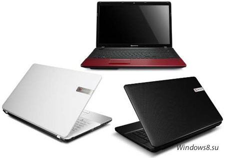 Новые ноутбуки Packard Bell с USB 3.0