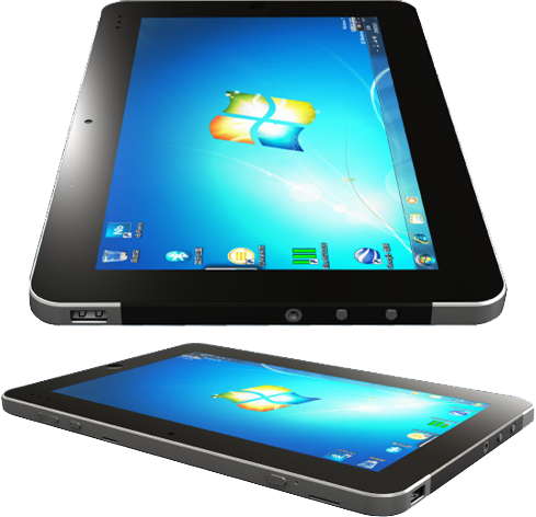 На планшеты ставят Windows 7