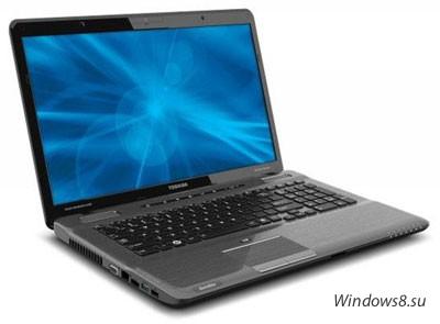Новые мощные ноутбуки Toshiba Satellite P-series