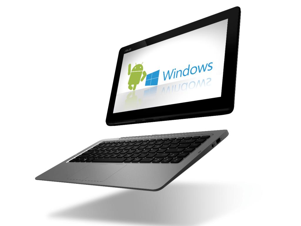 Asus представит планшет с двумя операционными системами