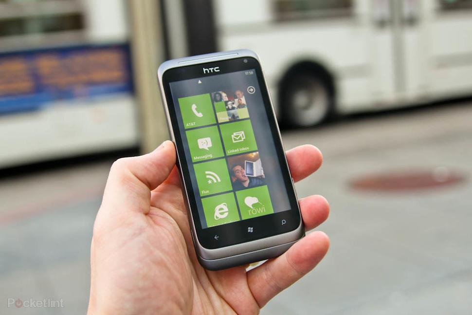 2 новых Windows Phone от HTC: Titan и Radar