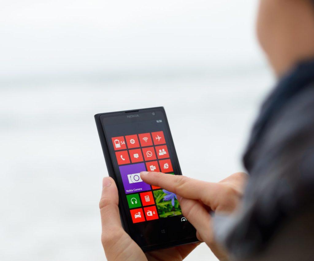 Как в Windows Phone блокировать приложения и файлы паролем