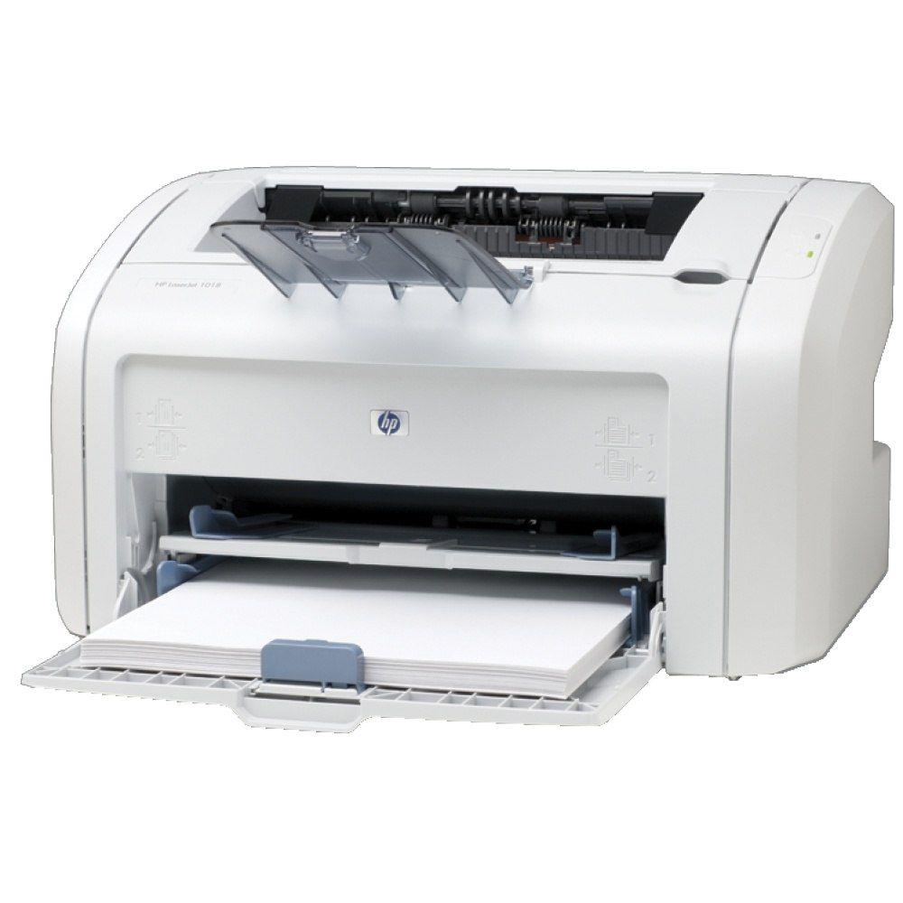 Как установить, подключить и настроить принтер HP LaserJet 1018