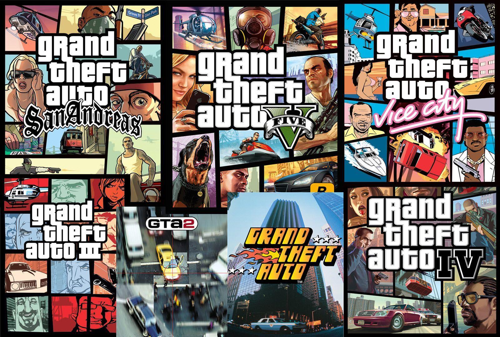 GTA. Легенда игровой индустрии