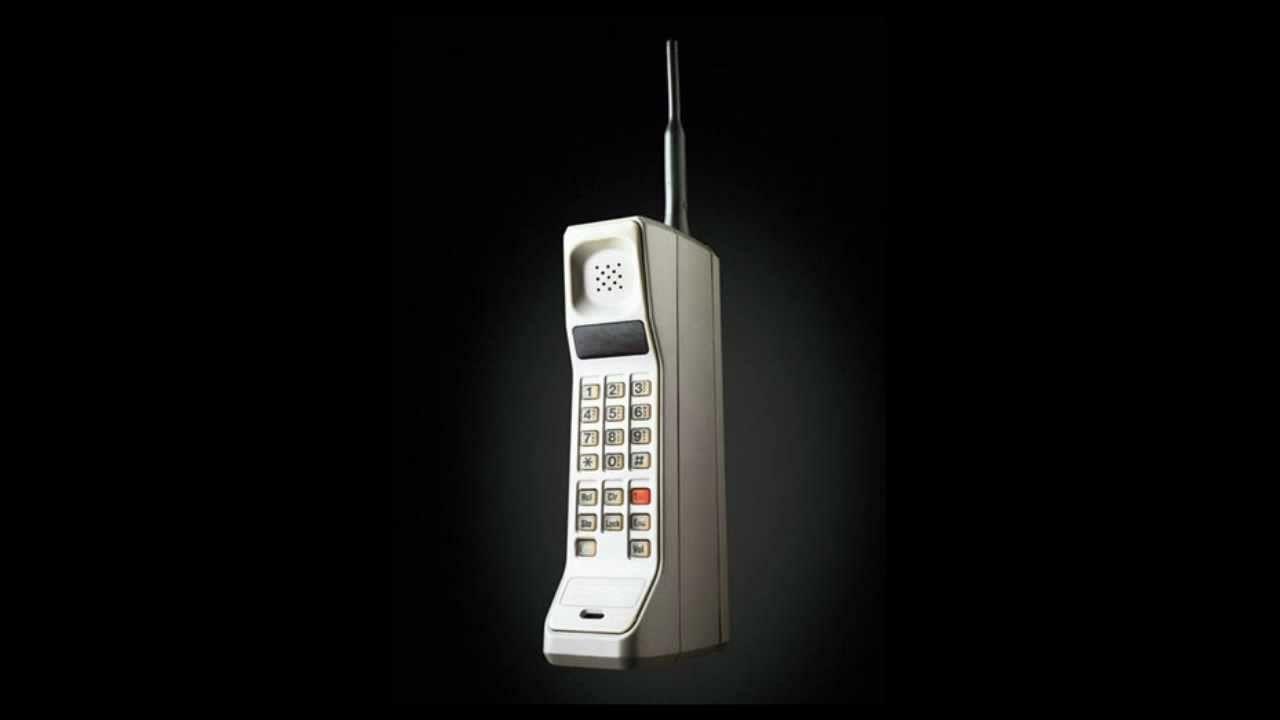 Самый первый мобильный телефон в мире