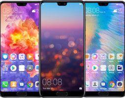 Смартфоны Huawei: чем удивили в 2018