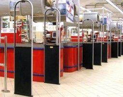 Противокражное оборудование для продуктовых магазинов