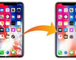 Профессиональная замена стекла iPhone X в сервисе Pedant
